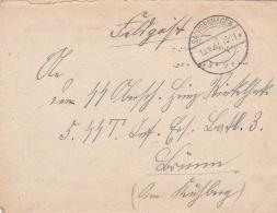 SS Feldpost WW2: To 5. SS Totenkopf Infanterie Ersatz Bataillion 3 In Brünn (now Called Brno In The Czech Republic)  P/m - Militaria