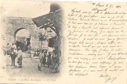 Tunis, La Porte Bab-Djedid  ( 2 X Scan) - Tunesië