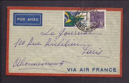 ENVELOPPE BRESIL BRASIL Tàd 1936 SAO PAULO CORREIO AEREO - Airmail (Private Companies)