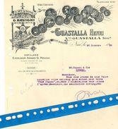 Nice (06): Distillerie Excelsior AMARO G. ROVIGHI : GUASTALLA 1929 Pour DUPONT à Cognac. - Francia
