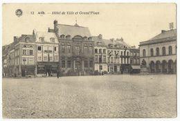 Ath - Hôtel De Ville Et Grand'Place (edit Hermans - Rare) - Ath