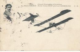 AVIATION ))  BIPLAN SOMMER   , Piloté Par KIMMERLING - Aviatori