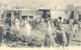 Tunis, Place Bab- Souika - Tunesië