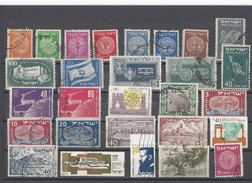 ISRAELE  Mix Set Stamps Of Israel Small Selection Of Fine Used 1533 - Collections, Lots & Séries