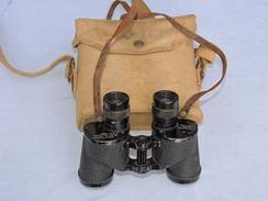 JUMELLES 6 X 30 CANADA 1944  + ETUI TOILE WEBBING - Optics