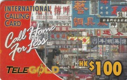 Hong Kong, PRE-HK-1001, Call Home For Less, 2 Scans. - Hong Kong