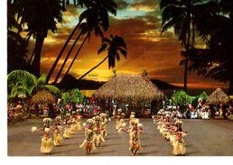 TAHITI--OTEA--au Crépuscule--voir 2 Scans - Polynésie Française