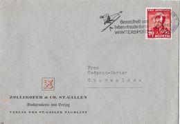 HEIMAT ST.GALLEN - 1943 Zollikofer & Co.St.Gallen (Verlag St.Galler Tagblatt) - Switzerland