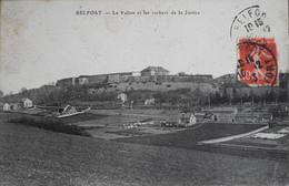 CPA - FRANCE - BELFORT - Le Vallon Et Les Rochers De La Justice - Datée 1913  - BE - Offemont
