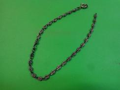 Chaine En Argent (sous Reserve) Long 18cm (voir Poincon) - Jewels & Clocks