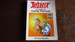 ASTERIX CARNET DE CARTES POSTALES  ASTERIX  UDERZO - Astérix