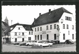 "AK Hünfeld, Gasthaus ""Zum Goldenen Adler"" - Huenfeld"