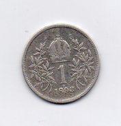 Austria - 1893 - 1 Corona - Francesco Giuseppe - Argento - (FDC6610) - Austria