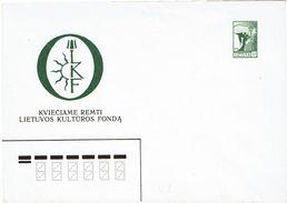 LITUANIE EP 2 ENVELOPPES COMMEMORATIVES 5K NEUVES - Lithuania