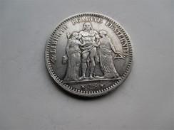 Frankrijk 5 Francs 1877 K - Francia