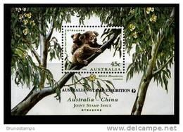 AUSTRALIA - 1995 KOALA  MS  OVERPRINTED AUSTRALIAN STAMP EXIBITION  MINT NH - Blocchi & Foglietti