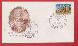 Enveloppe Premier Jour / San Pier Damiani / Venezia / 30-9-1972 - Affrancature Meccaniche Rosse (EMA)