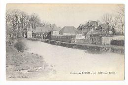 Environs De RENNES  (cpa 35)  Le Château De Lillion -   - L 1 - Rennes