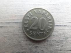 Estonie    20  Senti  1992  Km 23 - Estonie
