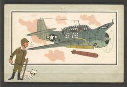 """Chromos Tintin Collection """"Voir Et Savoir"""" L'aviation De La Guerre 1939-1945 - Autres Collections"""