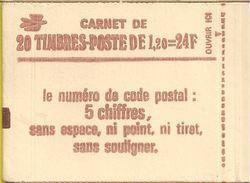 1974 C4 CARNET SABINE DE GANDON 1F20 ROUGE CONFECTIONNEUSE 8 OUVERT TRES PROPREMENT 2 SCANS - Markenheftchen