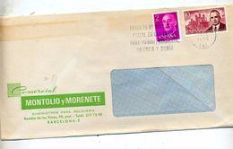 Lettre Flamme Barcelone Sur Palacios Entete Montre  Instrument Mesure Elma - Machine Stamps (ATM)