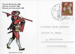 HEIMAT BERN → 1960 Tag Der Briefmarke Bern, Standesläufer Von Bern - Schweiz