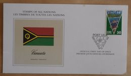 FDC STAMPS OF ALL NATIONS VANUATU - Vanuatu (1980-...)