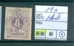 29a Xx - 1869-1883 Leopold II