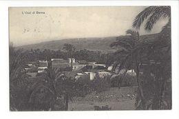 18359 - Libye Somalie L'Oasi Derna 1912 - Libye