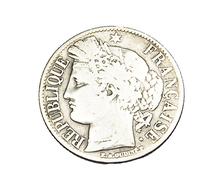 1 Franc - Type Cérès - France - 1849  A - Paris - TB - - H. 1 Franc