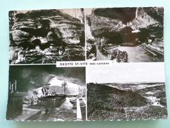 V123-67-bas Rhin-grotte Sainte Vite- Pres De Saverne- Ancien Hermitage-restauree En 1947--multivues-- - Altri Comuni