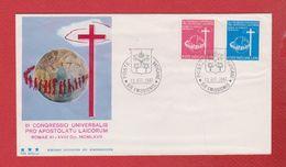 Enveloppe Premier Jour /Vatican / 1967 - FDC