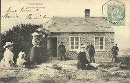- 80  -  SOMME  -  FORT-MAHON  - Visite Aux Douaniers - Fort Mahon