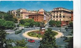 GENOVA - PIAZZA CORVETTO  VG   AUTENTICA 100% - Genova (Genoa)