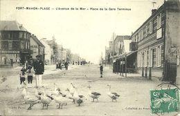 - 80  -  SOMME  -  FORT-MAHON  - L'Avenue De La Mer - Fort Mahon