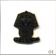 Pin's - Miélan (32) / Exposition Artisanale - Rue Piétonne Avec Masque Egyptien. Non Est. EGF. T555-01 - Cities