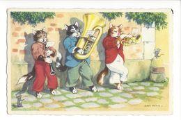 18362 - Chats Habillés Humanisés Musiciens De Jean Paris - Animaux Habillés