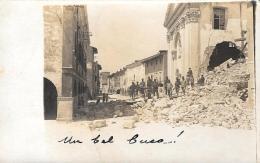 [DC9273] CPA - EFFETTI DEL BOMBARDAMENTO - Viaggiata - Old Postcard - Non Classificati