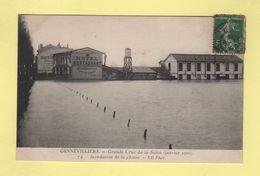 Gennevilliers - Inondations De La Plaine - Crue De La Seine Janvier 1910 - Gennevilliers
