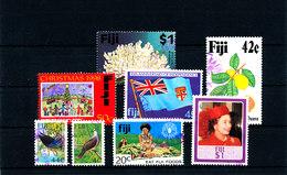 Schönes Lot Fiji (Fidschi - Inseln) Gestempelt - Fiji (1970-...)