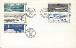 Sweden - Sweden Within The Arctic Line.  Fdc. SG 614-618    # 549 # - Other