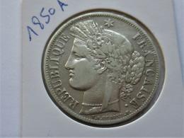 France 5 Francs 1850 A - Frankrijk