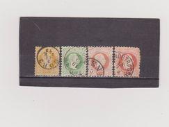 AUTRICHE   1867-80  Y.T. N° 32  33  34  Impression A  Oblitéré - 1850-1918 Empire