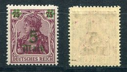 Deutsches Reich Michel-Nr. 156I Postfrisch - Geprüft - Ungebraucht