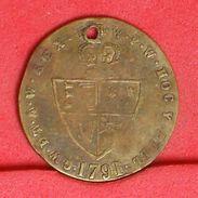 GREAT BRITAIN   1791 - 2 GRS 22 MM - REPLICA     - (Nº19209) - United Kingdom