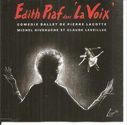 Edith PIAF - LA VOIX - Comédie Ballet De P. Lacotte, M. Rivgauche Et C. Leveillée - CD 13 Titres EMI Capitol - Musique & Instruments