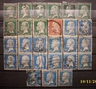 Frankreich Lot Pasteur 1923 - 1926 Gestempelt      (R325) - 1922-26 Pasteur