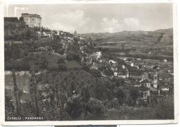 CANELLI  PANORAMA VIAGGIATA FG 1938 - Asti