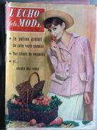 L'echo De La Mode Avec Sa Pleine Page Tintin Au Pays De L'or Noir  N° 27 Du 5 Juillet 1959 - Mode